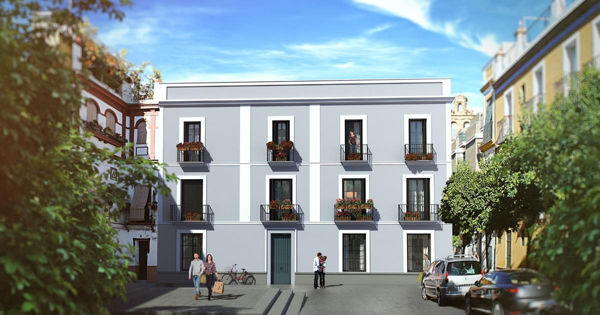 Pisos en el centro de sevilla inmueble de nueva obra con aparcamiento - Pisos en el centro de sevilla ...